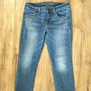 American Eagle Skinny Stretch Jeans Women's Size 8